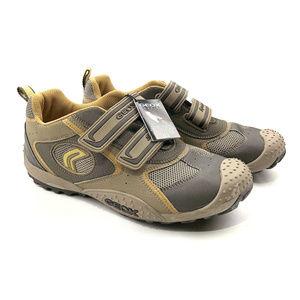Geox Respira Women Brown Leather Sport Hiking  6.5